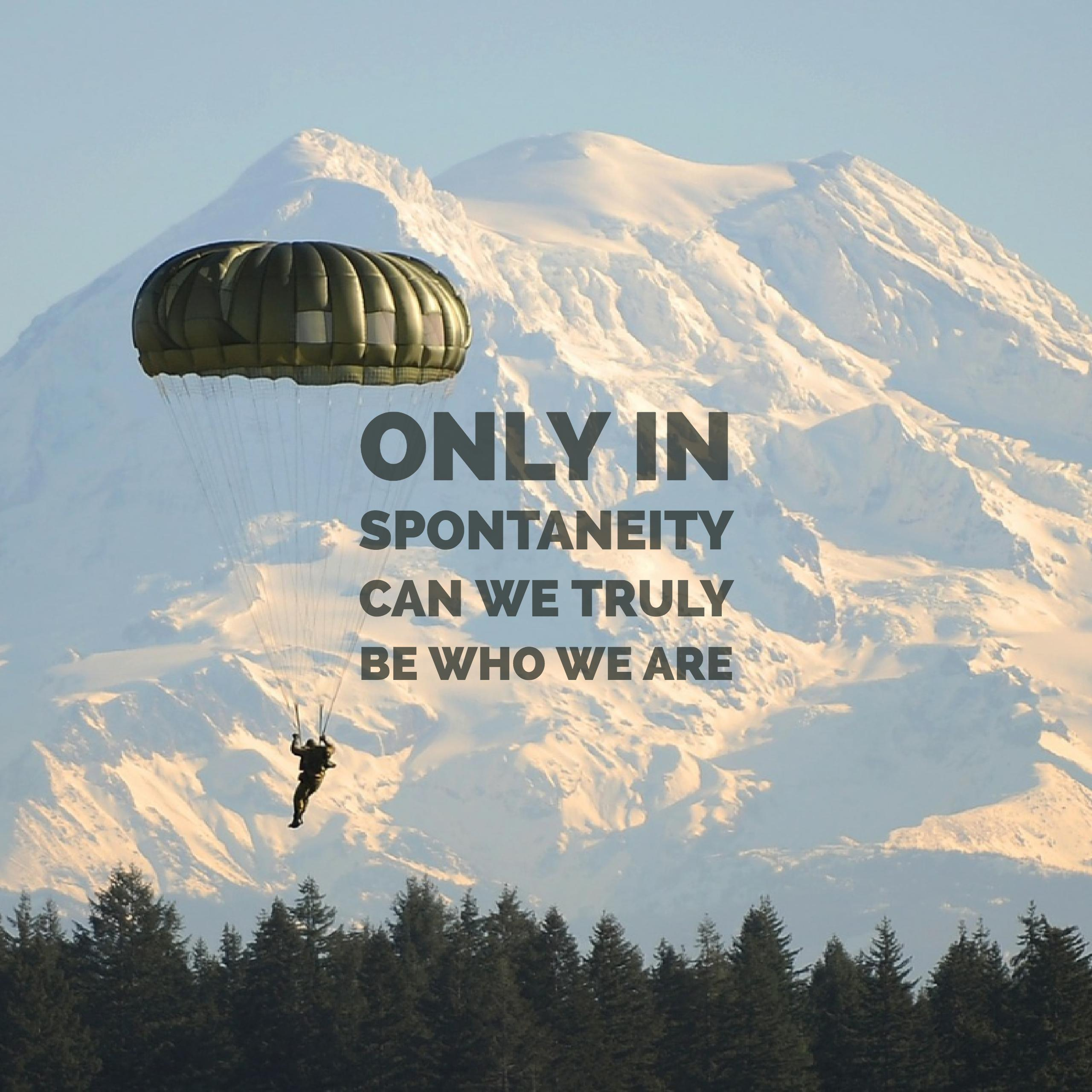 Connecting the Dots – Trust in Spontaneity