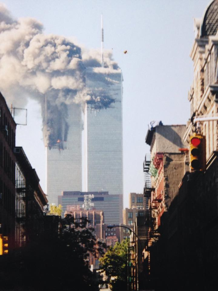 I Remember Watching The First Tower Fall on 9/11